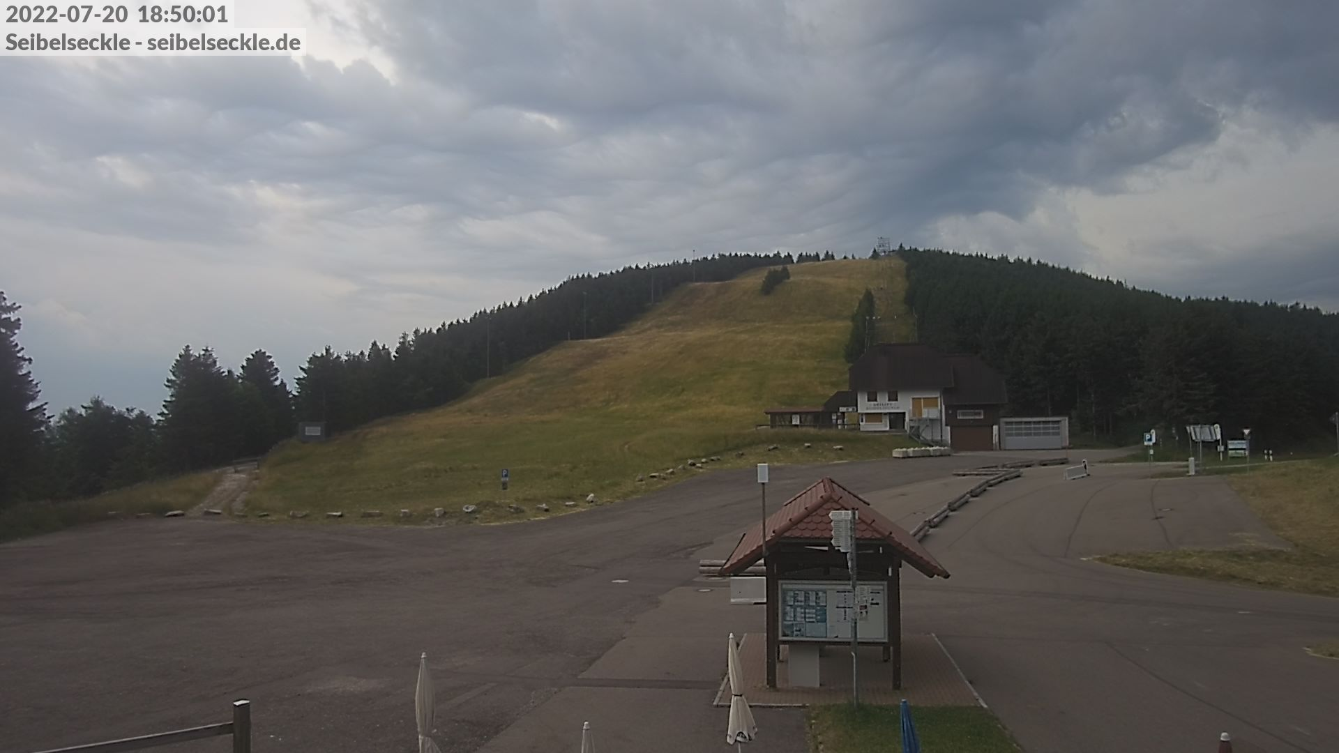 Webcam am Skilift Seibelseckle im Schwarzwald